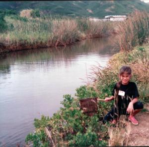 Frank's interest in aquatic ecosystems dates back to her childhood, growing up near the Kawainui Marsh in Kailua, Ko'olaupoko, O'ahu
