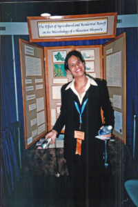 Frank at the 2003 International Science and Engineering Fair
